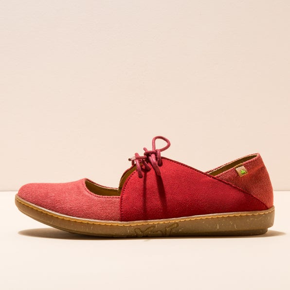 N5228T ORGANIC CO-M.SUEDE TIBET/ CORAL
