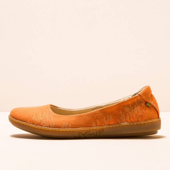 N5600T SEAWEED CANVAS CARROT/ CORAL