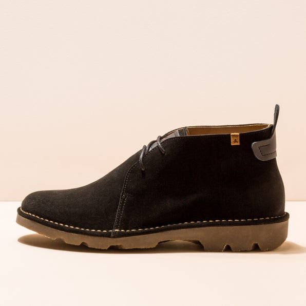 N5740 LUX SUEDE BLACK/FOREST MAN