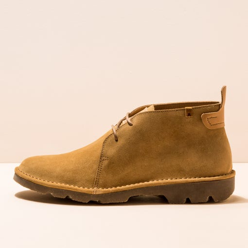 N5740 LUX SUEDE CAMEL/FOREST MAN