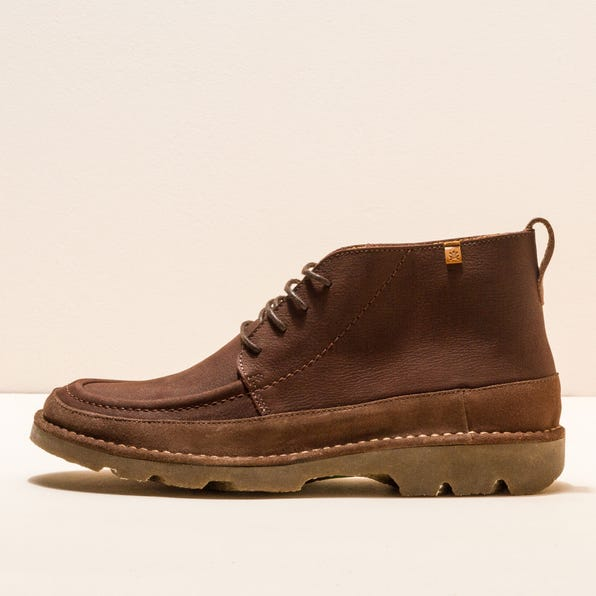 N5741 PLEASANT-LUX SUEDE BROWN/FOREST MAN