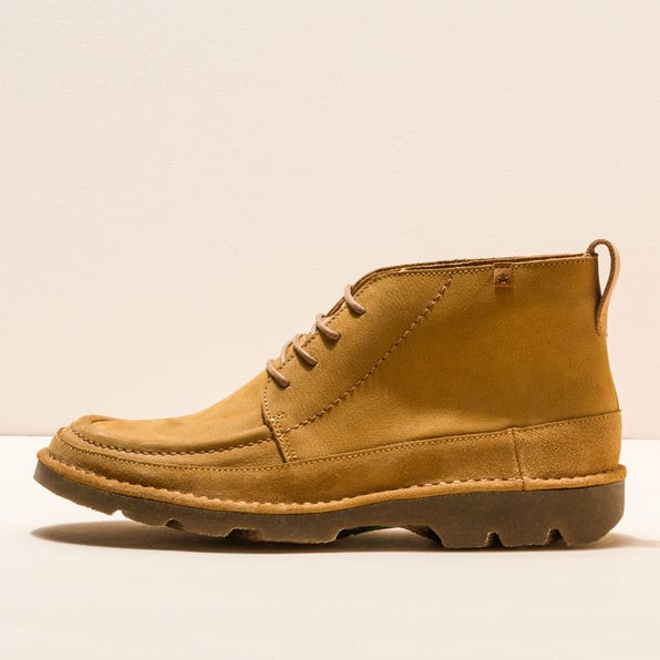 N5741 PLEASANT-LUX SUEDE CAMEL/FOREST MAN