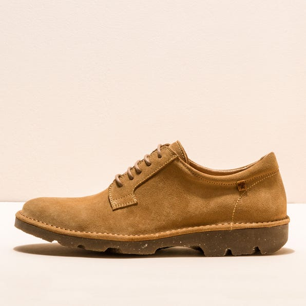 N5743 LUX SUEDE CAMEL/FOREST MAN